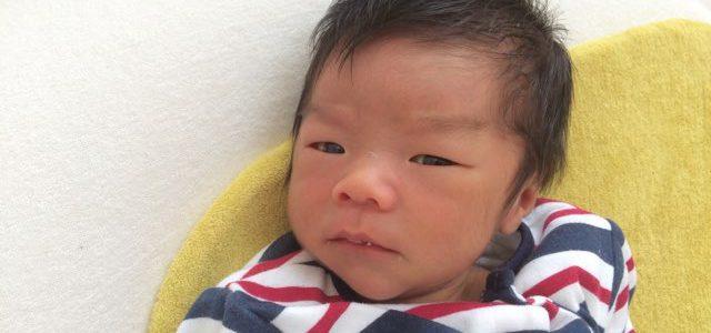 【産後ケア入院】き~くんが来てくれました♪