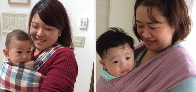 【だっことおんぶ】ママも赤ちゃんもご機嫌になっちゃいます♪