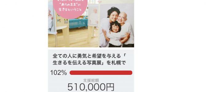 【祝】クラウドファンディング達成!(^^)!