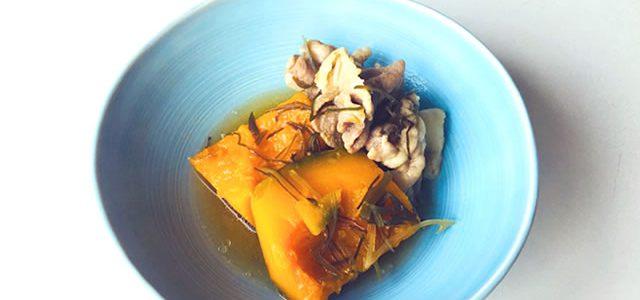 【さとちゃんレシピ39】創味のつゆでかぼちゃと豚肉の簡単煮物